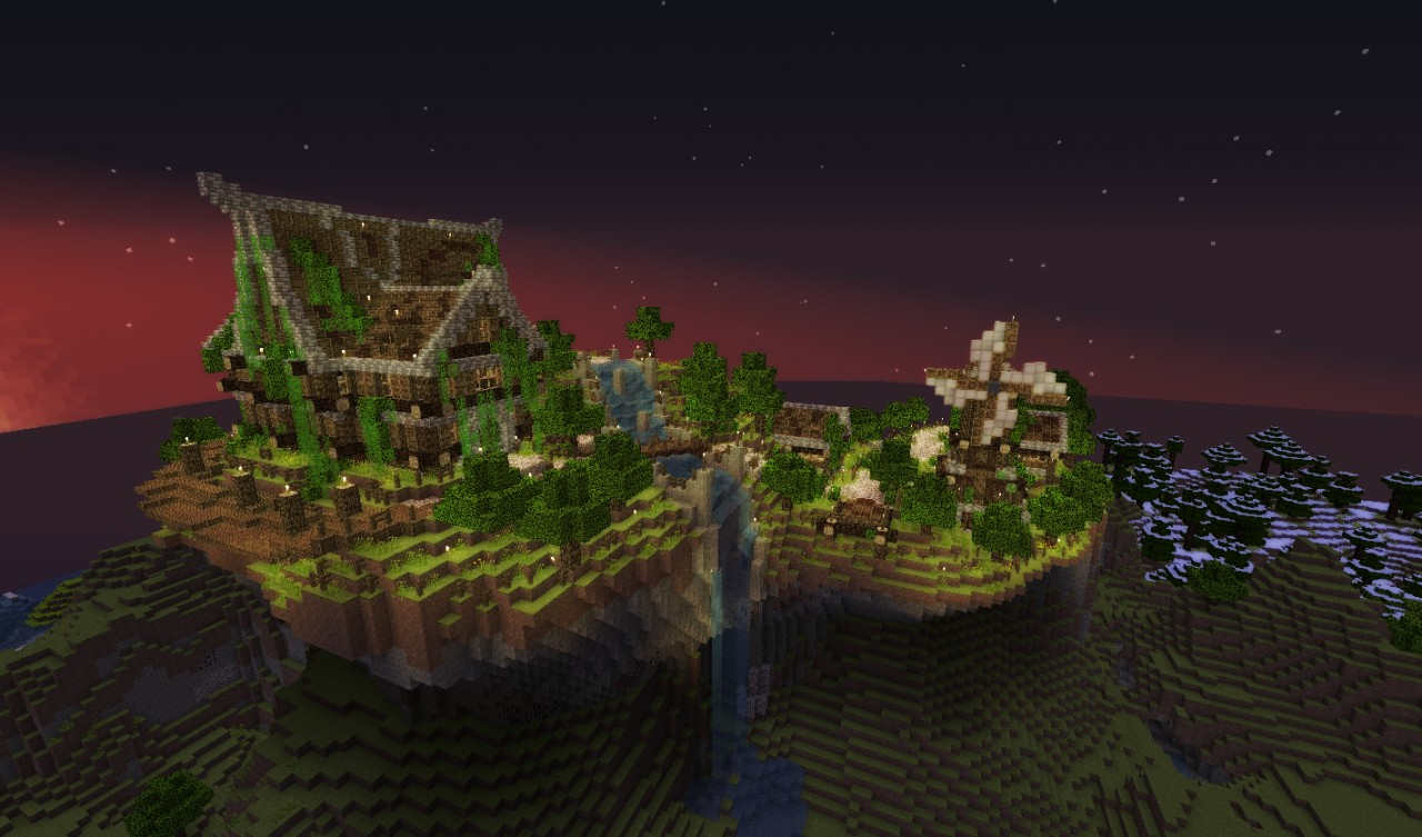 Medieval Mountain Village Download Minecraft Project