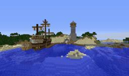 Large Port Minecraft Map & Project