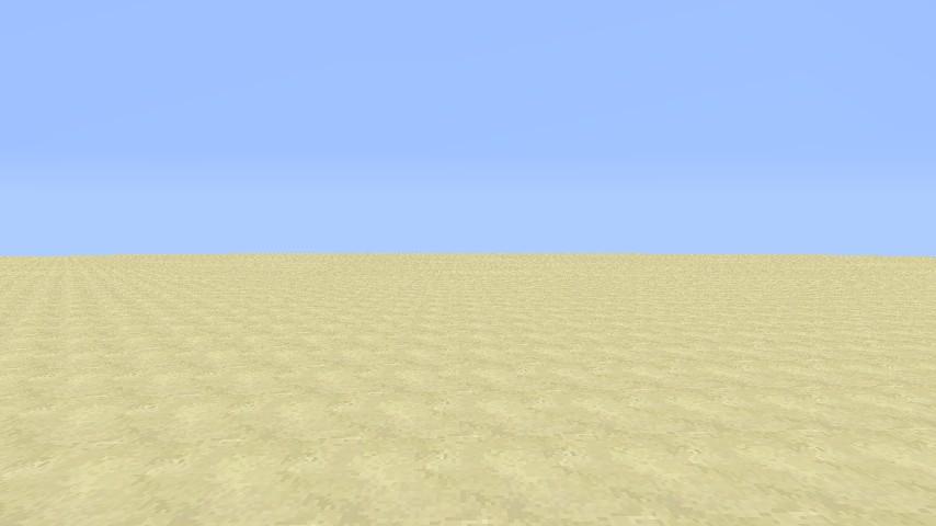 Sandstone Super Flat World Minecraft Project