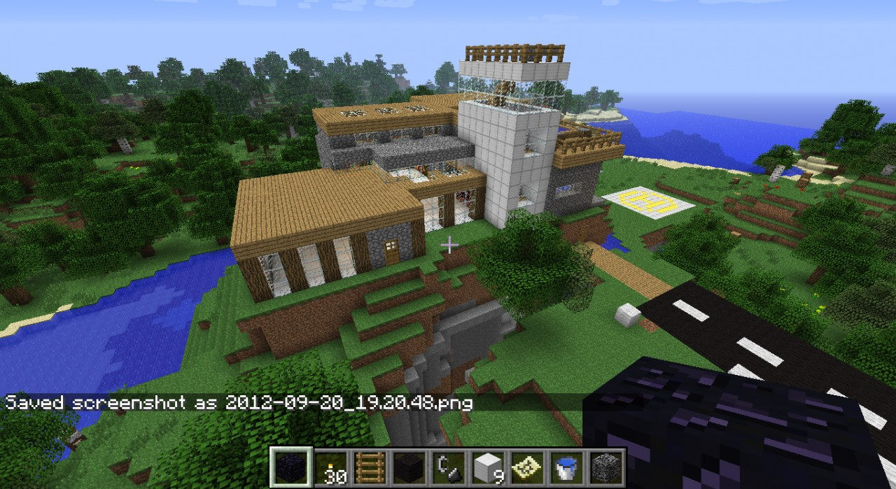 Modern House Projects Part 1 Minecraft Project