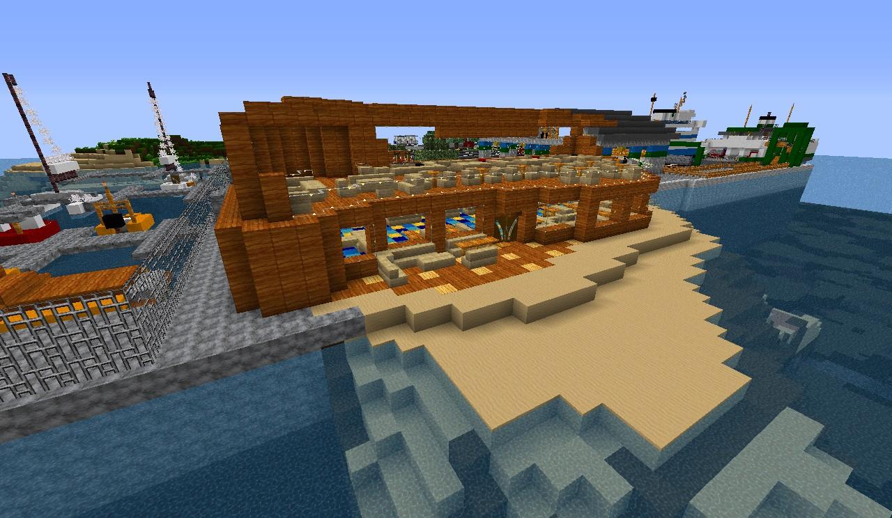 Seaside Restaurant Minecraft Project