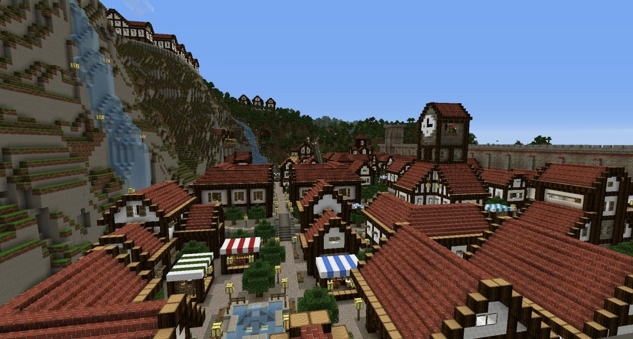 Aspenwood Village Minecraft