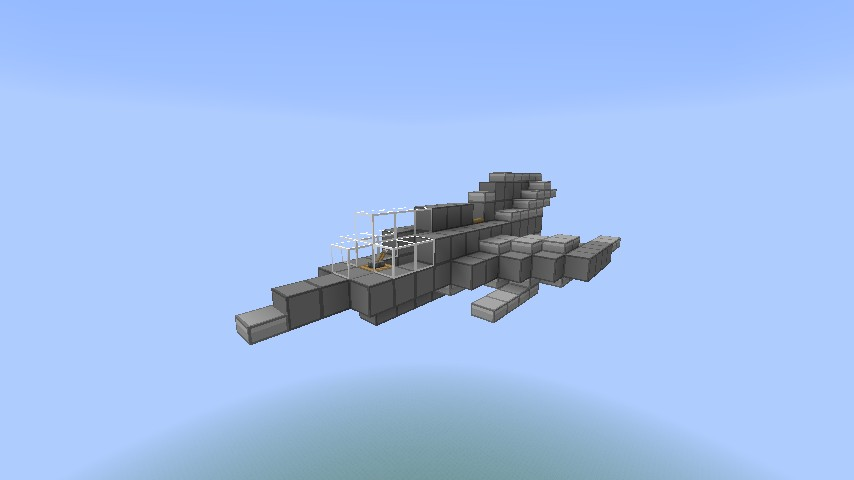 How To Build A Cargo Plane In Minecraft