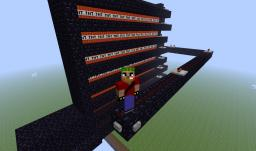 super long distance cannon Minecraft Map & Project