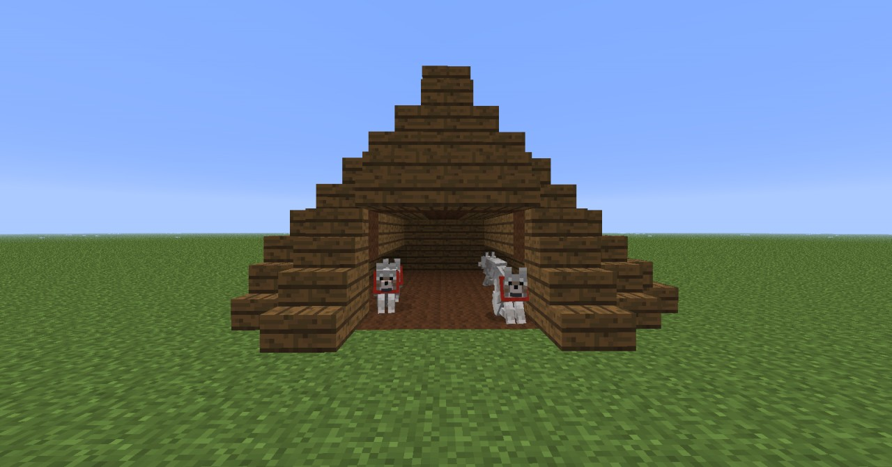 Minecraft How To Make Dog House
