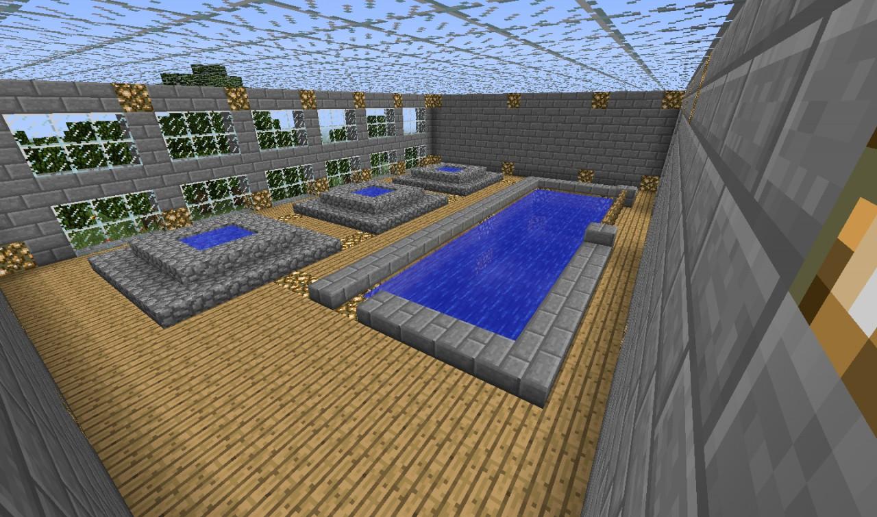 Leisure Center Minecraft Project