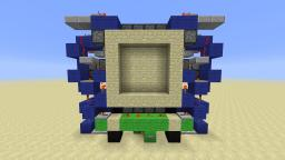 CNB's Supercharged 4x4 Piston Door Minecraft Map & Project