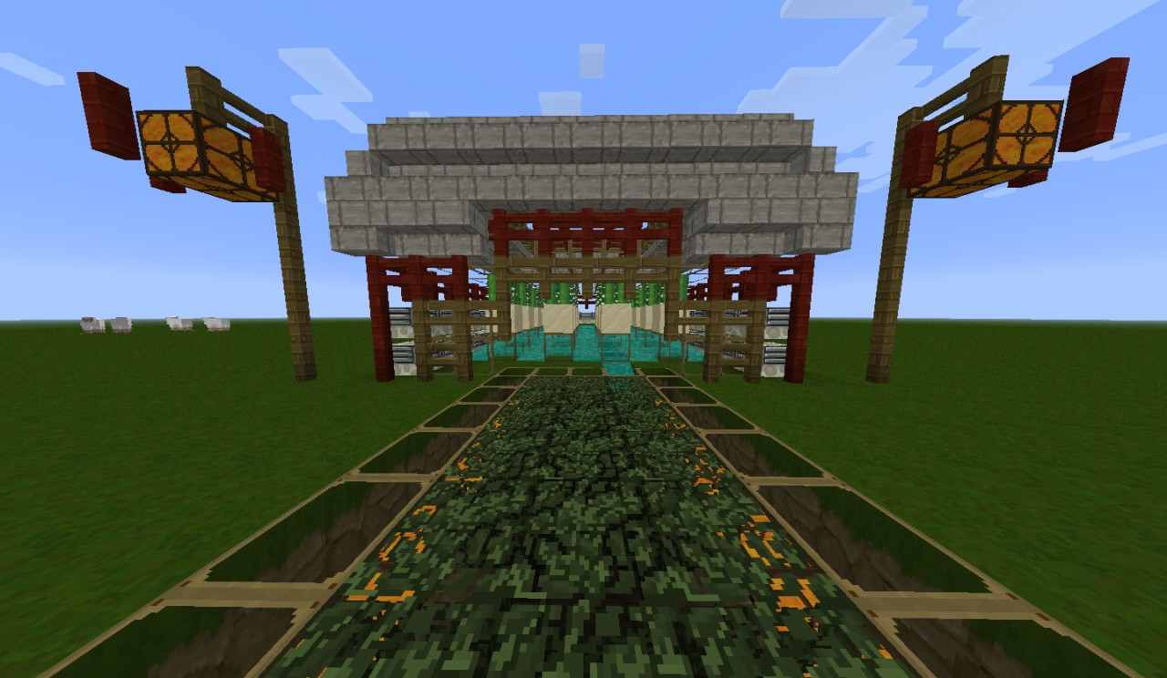 how to make a cactus farm in minecraft
