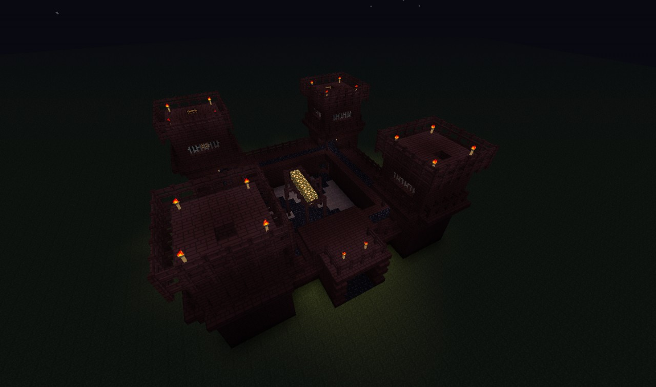 Fortress of evil. Minecraft Project