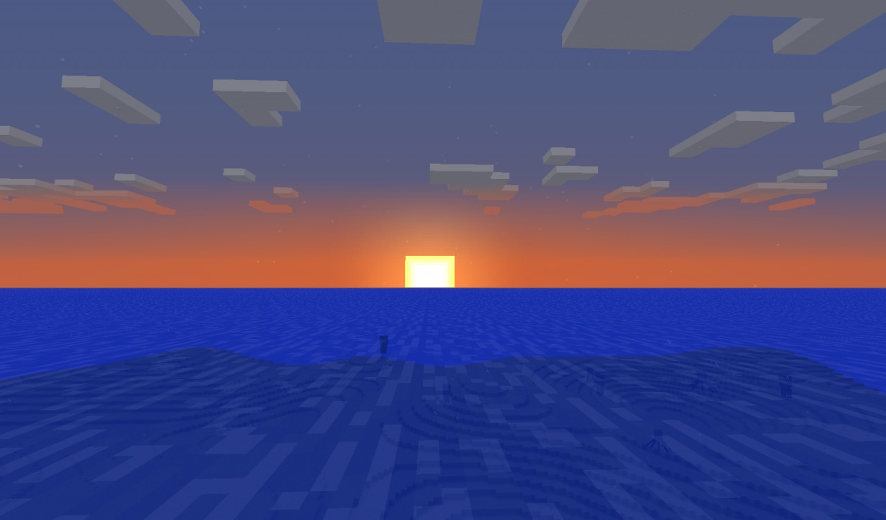 Vast Ocean Map Minecraft Project