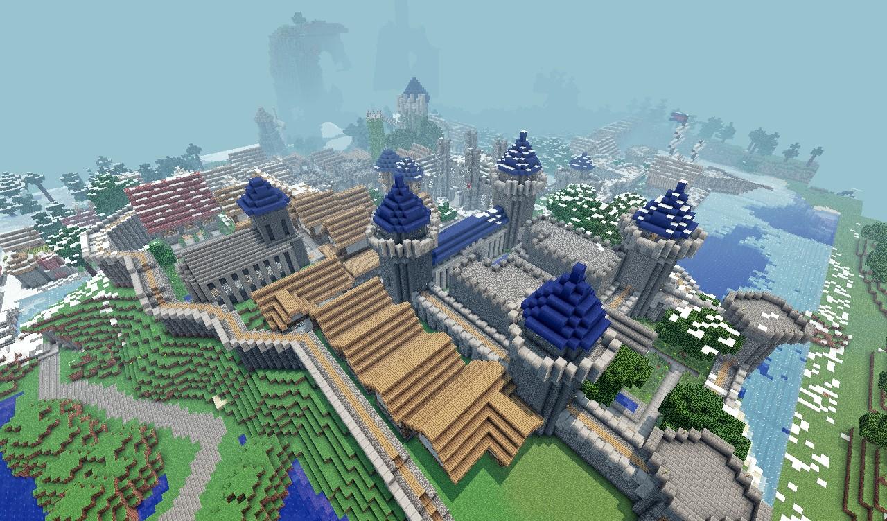 Server Map of Skyrimcraft