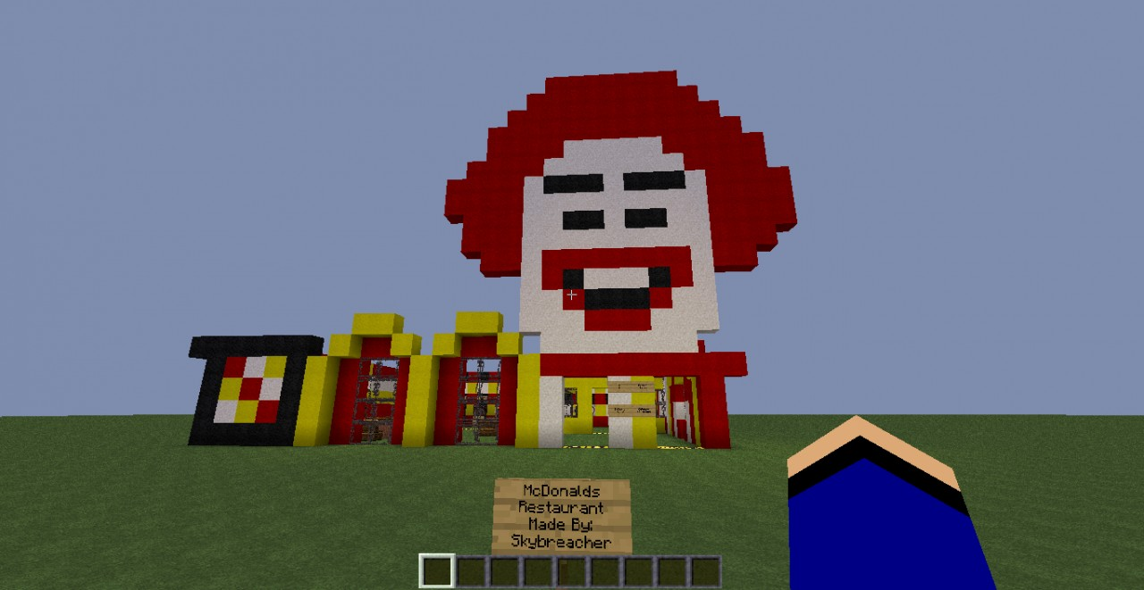 My Outdoor McDonalds Minecraft Project