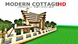 MODERN COTTAGE HD Minecraft Map & Project