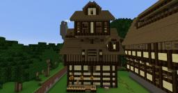 Medieval Houses + Schematic!