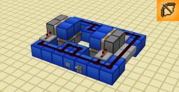 Minecraft flush 2x2 hole - SMALLEST DESIGN (7x6x2) Minecraft Map & Project