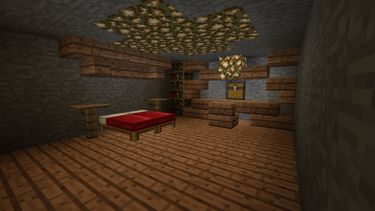 House in mountain minecraft project - Mountain house projects ...