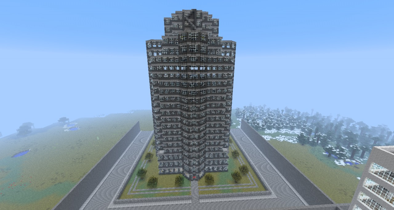 Nakatomi building die hard minecraft project for First time home building guide