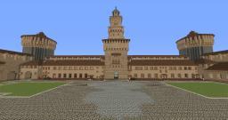 Castello Sforzesco Recreation! Minecraft Map & Project