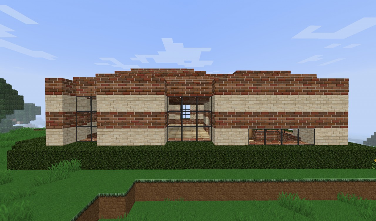 Small simple brick house minecraft project - Brick houses three beautiful economical projects ...