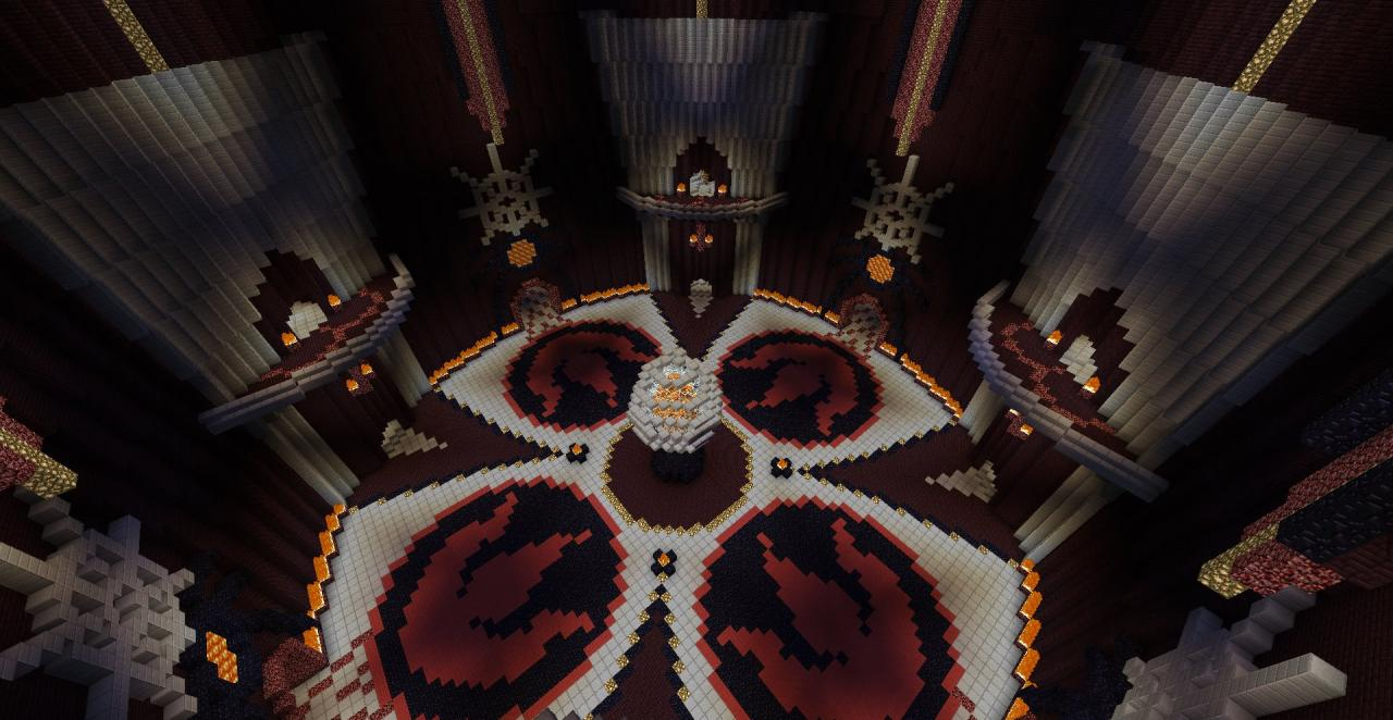 Temple of Fire Minecraft