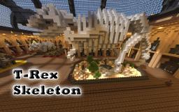 T-rex skeleton 3D