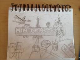 MineCon 2012 Drawing (Pencil) Minecraft Blog