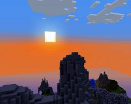 Moonlight mountains #1 (2nd mip team project about mountains) Minecraft Project