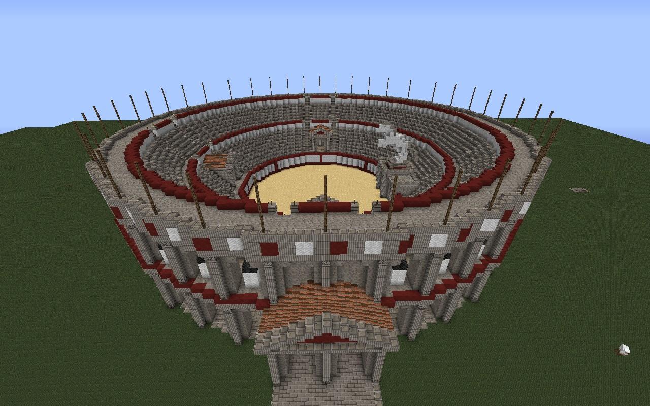 Minecraft maps arena - 9