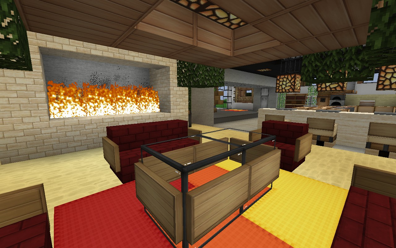 living in the living room de stijl 1 maddison heights mansion minecraft project 21354