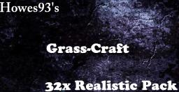Grass-Craft 32x  HD Realistic Pack |1.7.2 Updated