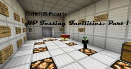 HP Industries Testing Facilities Part 1 Minecraft Map & Project