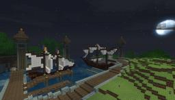 Harbour de Hylindar(100% Survival) Minecraft
