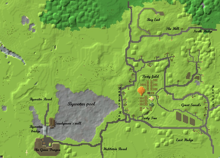 Map The Lord Of The Rings Minecraft