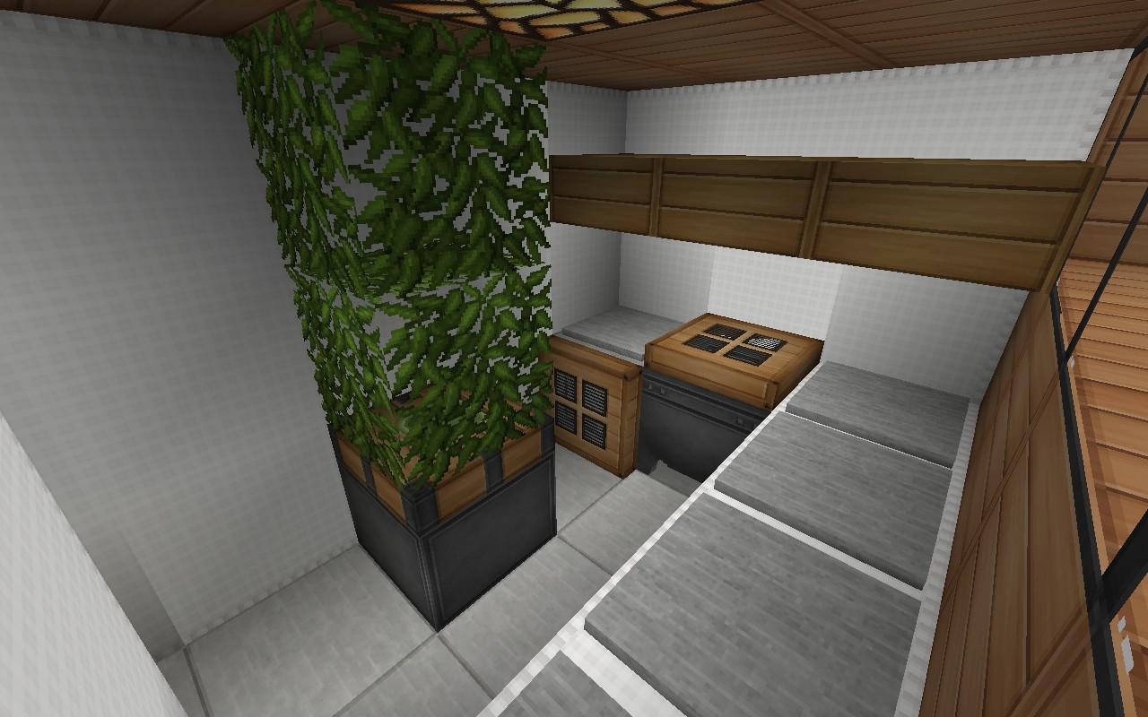 De Stijl 1 Maddison Heights Mansion Minecraft Project