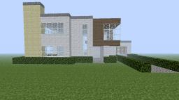 Modern house (Based off a house iv seen in RL) Minecraft Map & Project