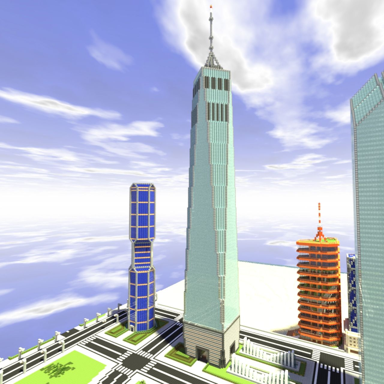 2 world trade center minecraft the for 2 world trade center
