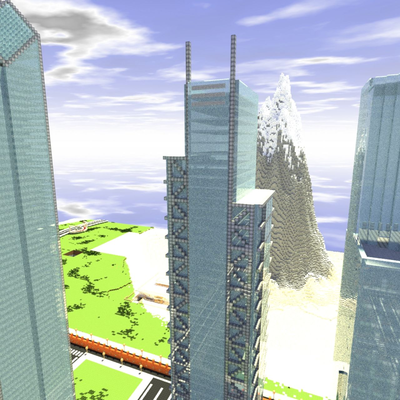 How To Build The World Trade Center In Minecraft