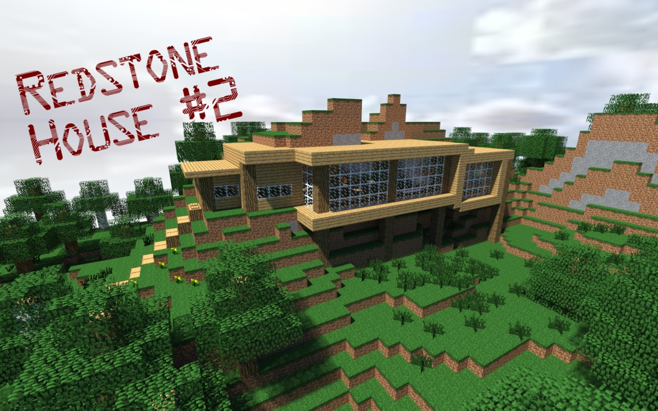 Redstone house 2 minecraft project for Project house