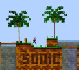 SONIC The HEDGEHOG - Old-School SEGA GFX v1.3.2 Minecraft Texture Pack