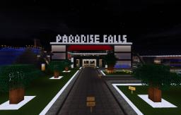 Paradise Falls | The Minecraft Mega Mall And Resort Minecraft