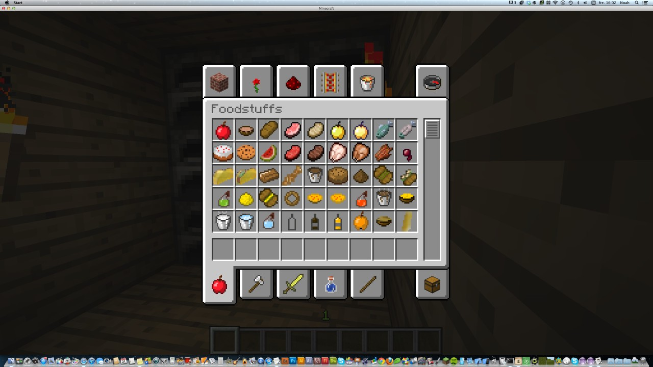 More Food Mod Minecraft Mod