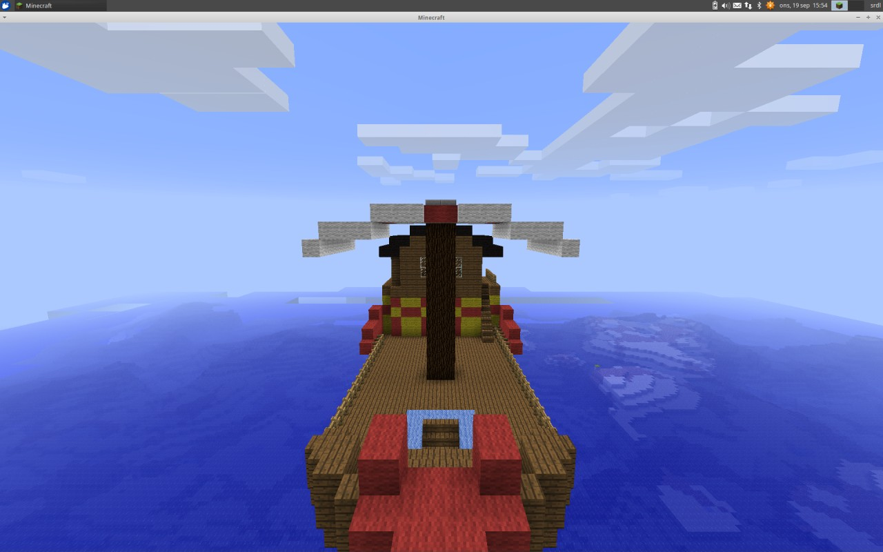 Ninjago Desteny S Bounty Minecraft Project