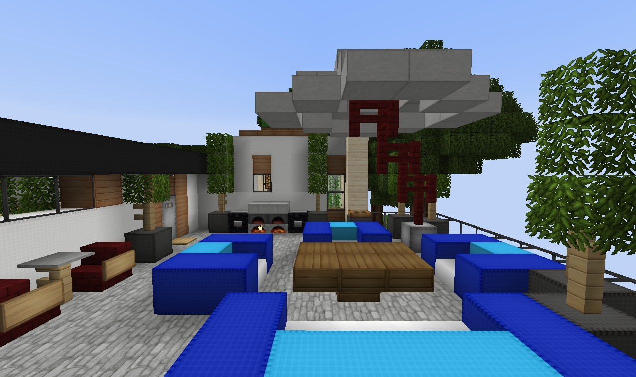 De Stijl 1 | Maddison Heights | Mansion Minecraft Project