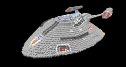 USS Rhode Island NCC-72701 Minecraft Map & Project