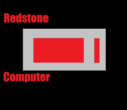 Redstone Computer Minecraft Project