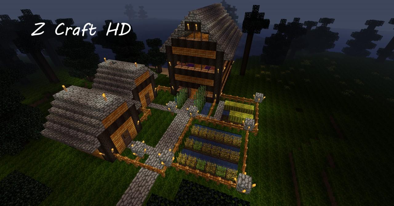 Z Craft HD Semi-Realistic Minecraft Texture Pack