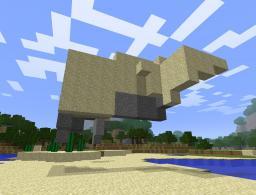 Floating Sand - Map Maker Edition Minecraft Mod