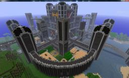 30000 square meter Castle Minecraft Map & Project