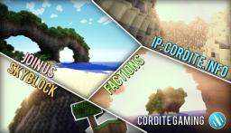 [1.3.2] Cordite-Gaming.Com | Australia | Creative | SkyBlock | McMMO | Factions/Raids | Quests Minecraft Server