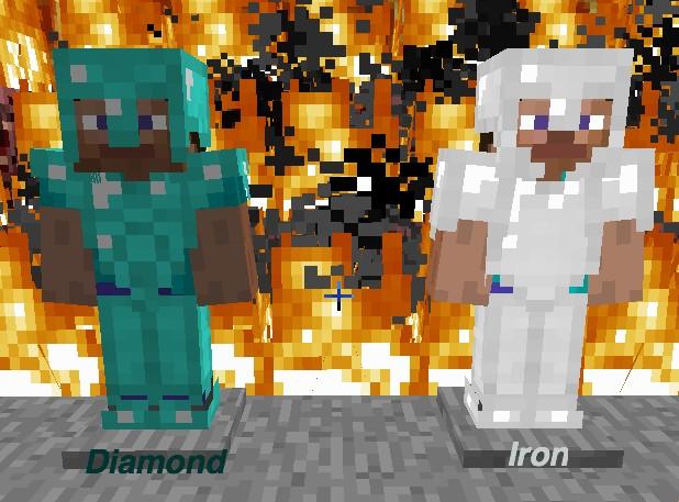 Diamond and Iron Armor